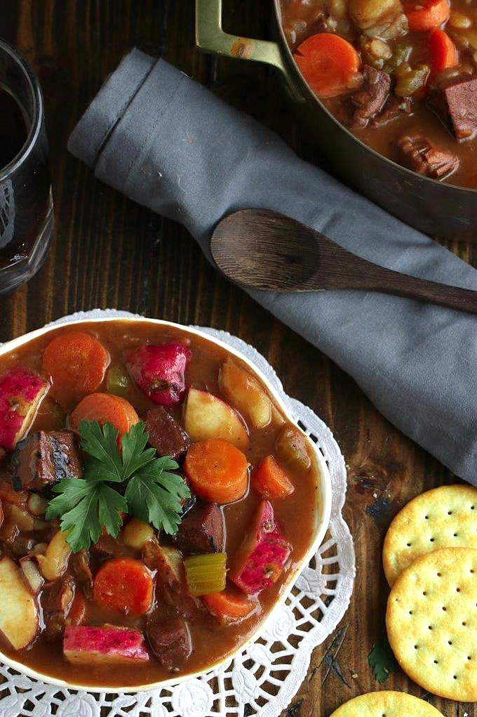Vegan Guinness Irish Stew